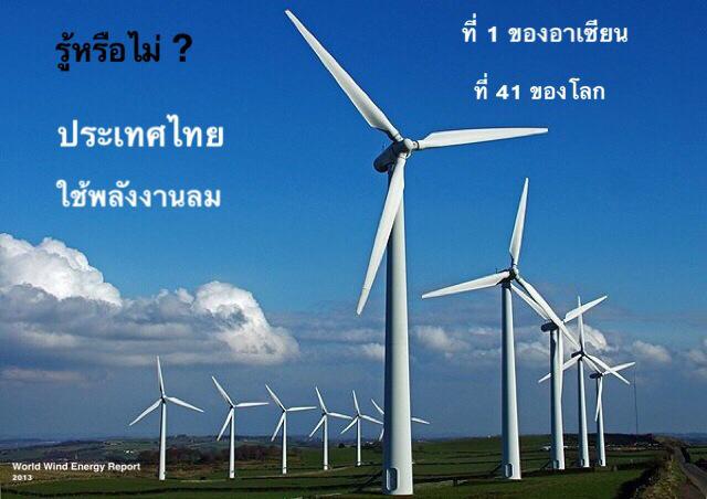 ประเทศไทย ใครว่าลมพัดลมเพ